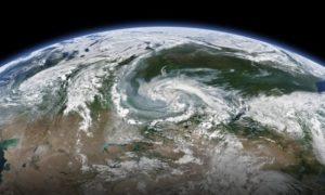 Καπνός από τις πυρκαγιές στην Αρκτική